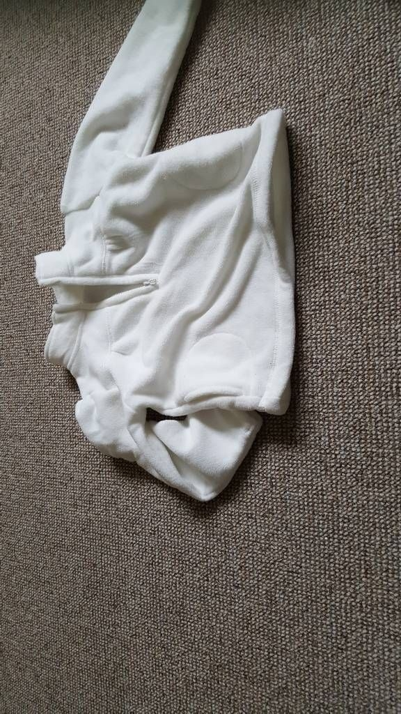 baby white fleece size 18-23 months