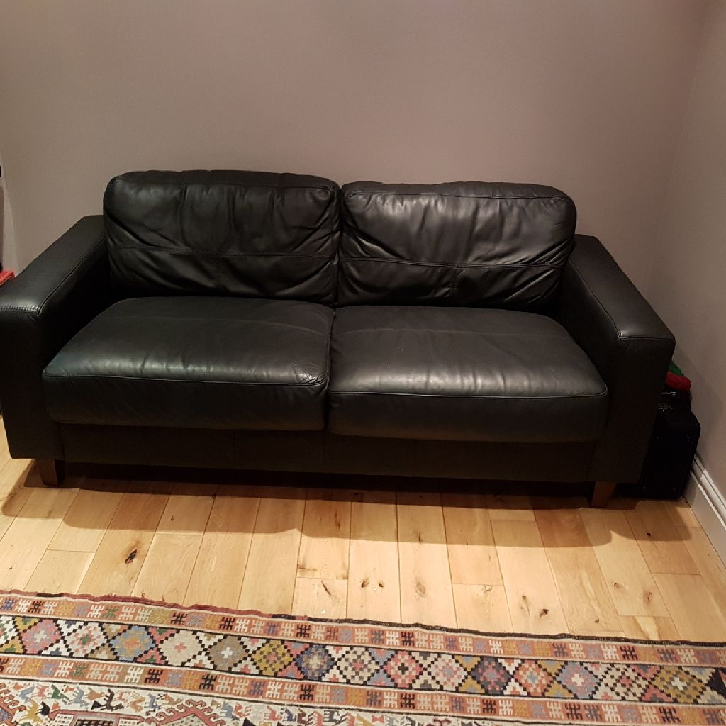 leather two seater soda