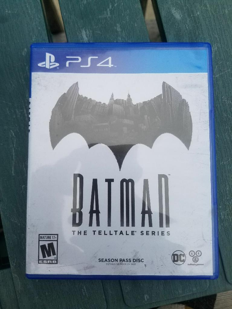 PS4 Batman Telltale series