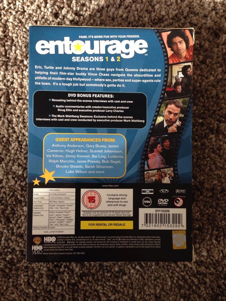Entourage - Season 1 & 2