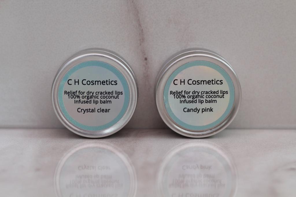 C H Cosmetics organic vegan lip balm
