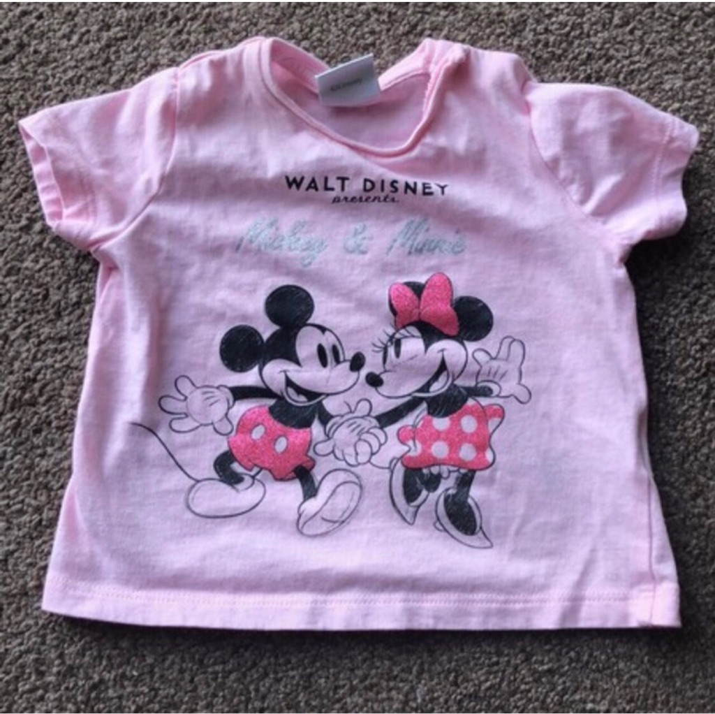 Baby girl 0-3 months minnie mouse top