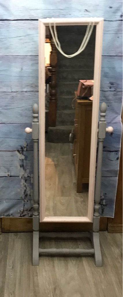 Full length swing mirror