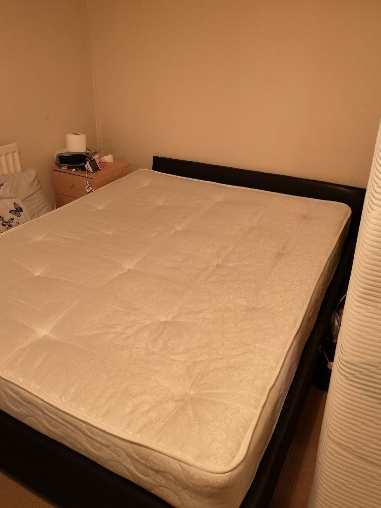 King size spring mattress