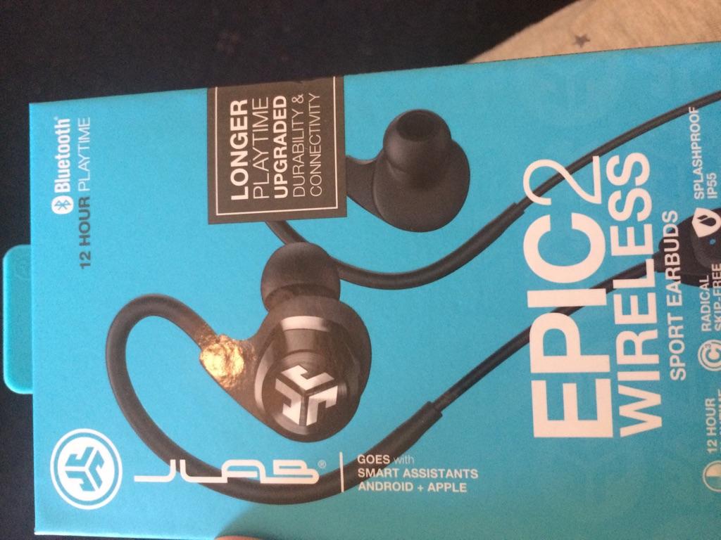Epic2 wireless headphones