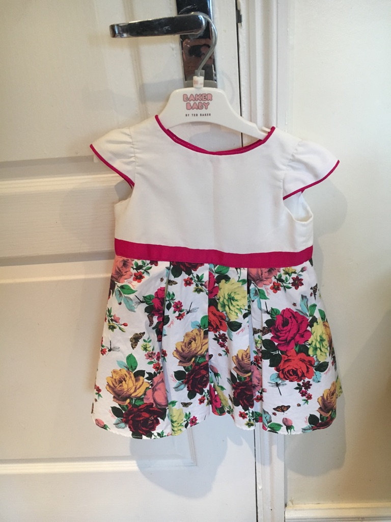 Ted Baker dress 12 to 18 months