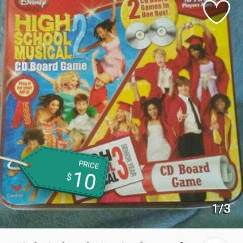 High School Musical 2 board game