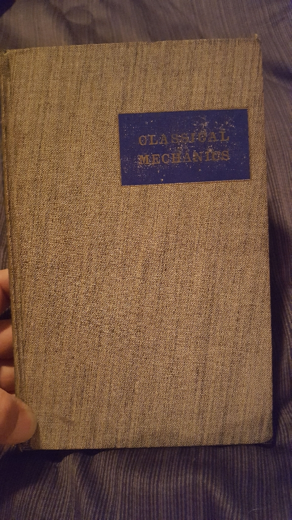 Classical Mechanics By T.W.B Kibble copyright 1966