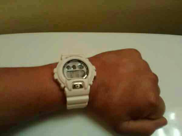 Men's White G-Shock Watch