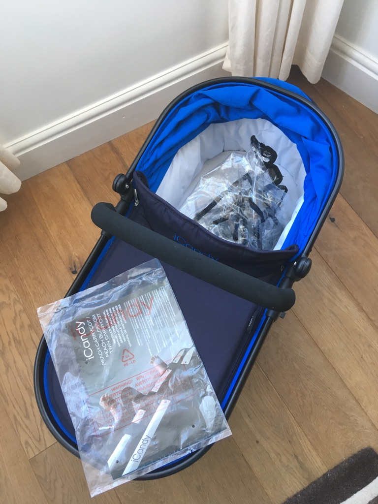 New I candy main carrycot