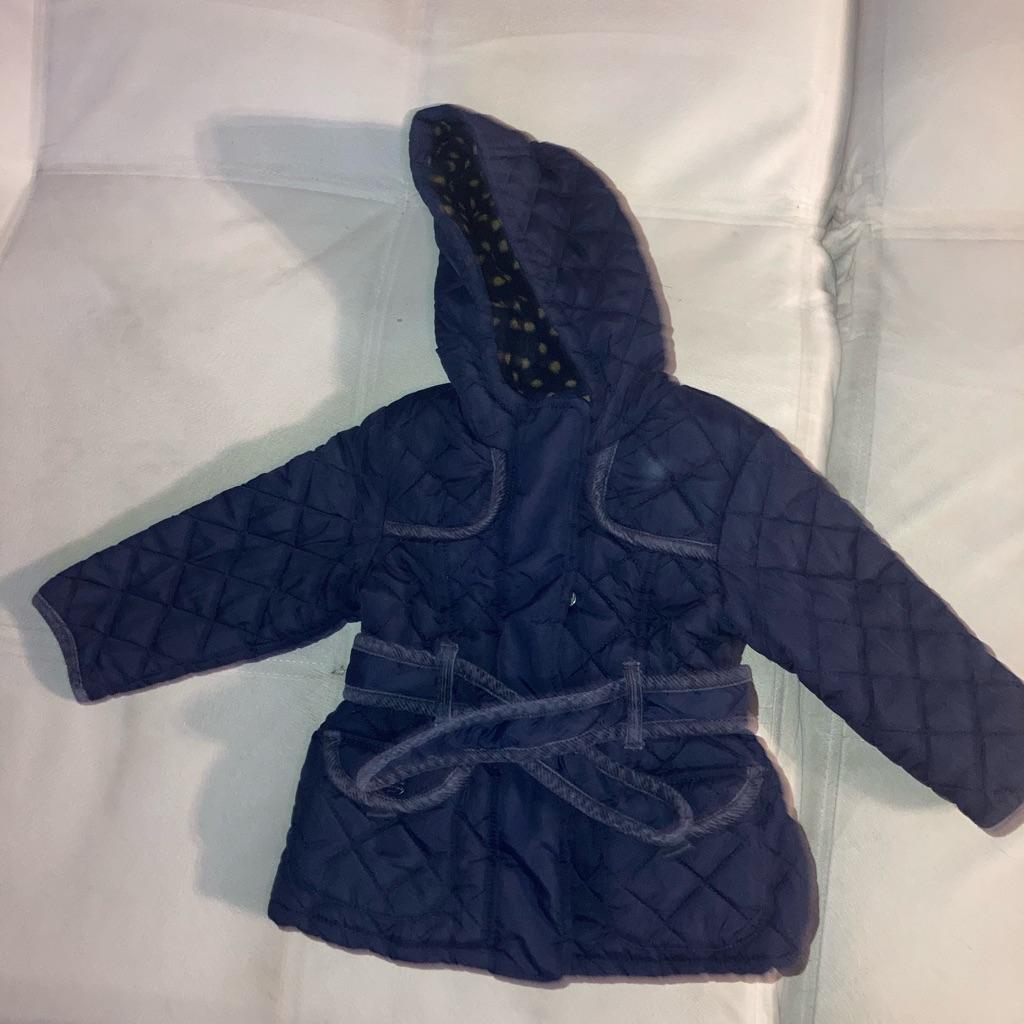 Baby girl jacket 12-18