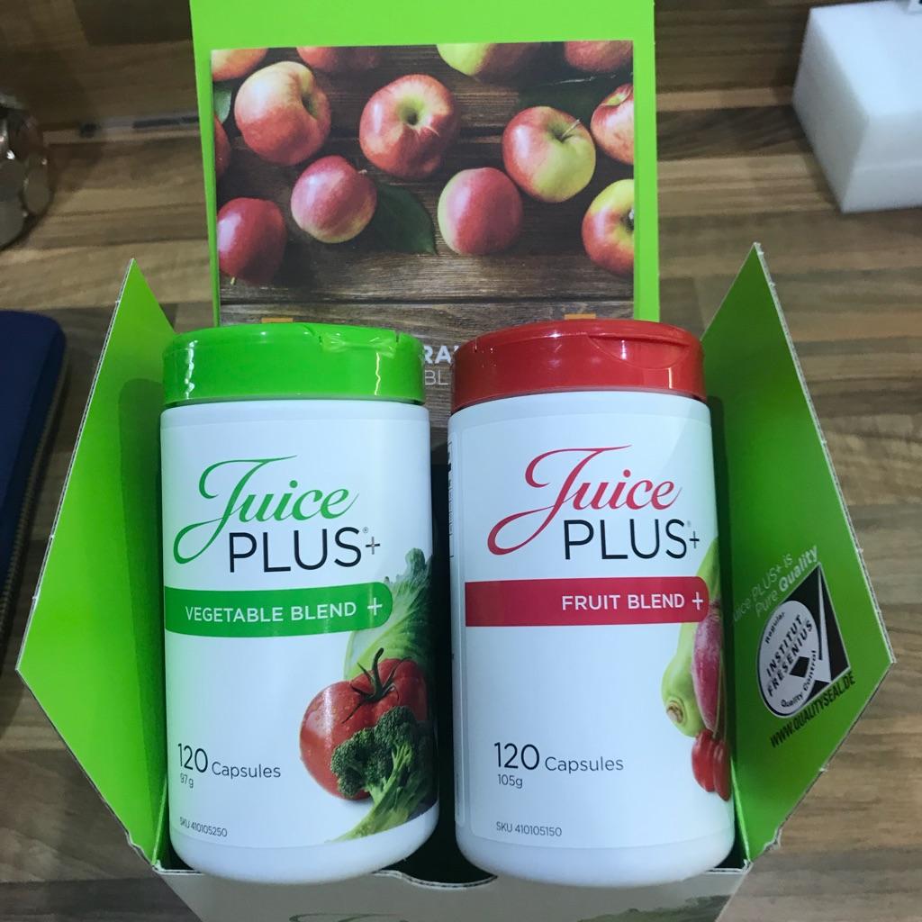 Juice plus fruit and veg capsules