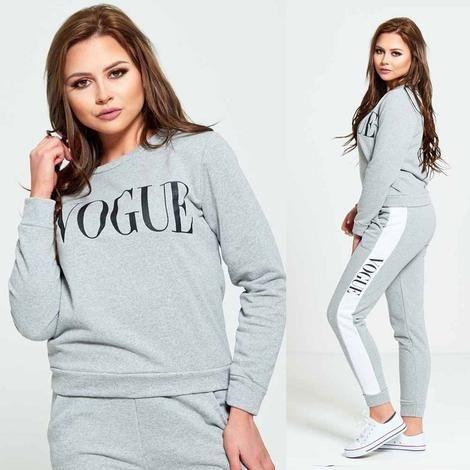 Vogue Slogan Tracksuit in 4 Colour 🙌💥
