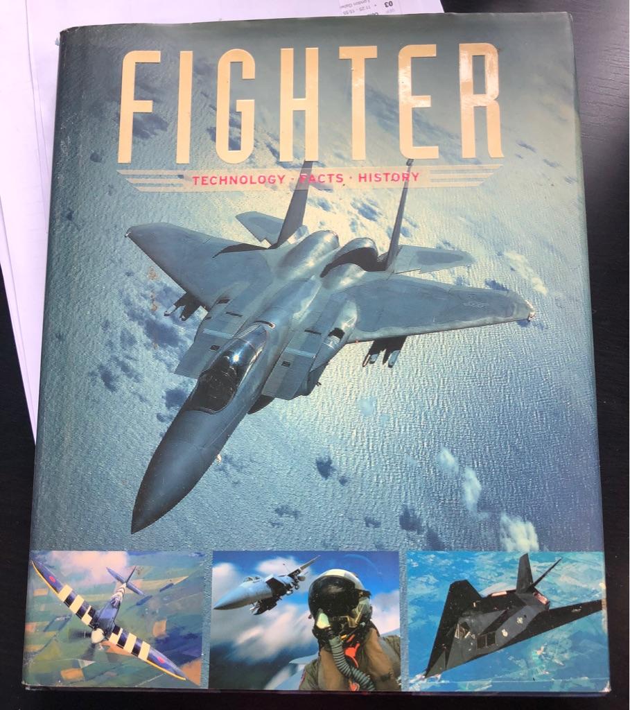FIGHTER AIRCRAFT BOOK