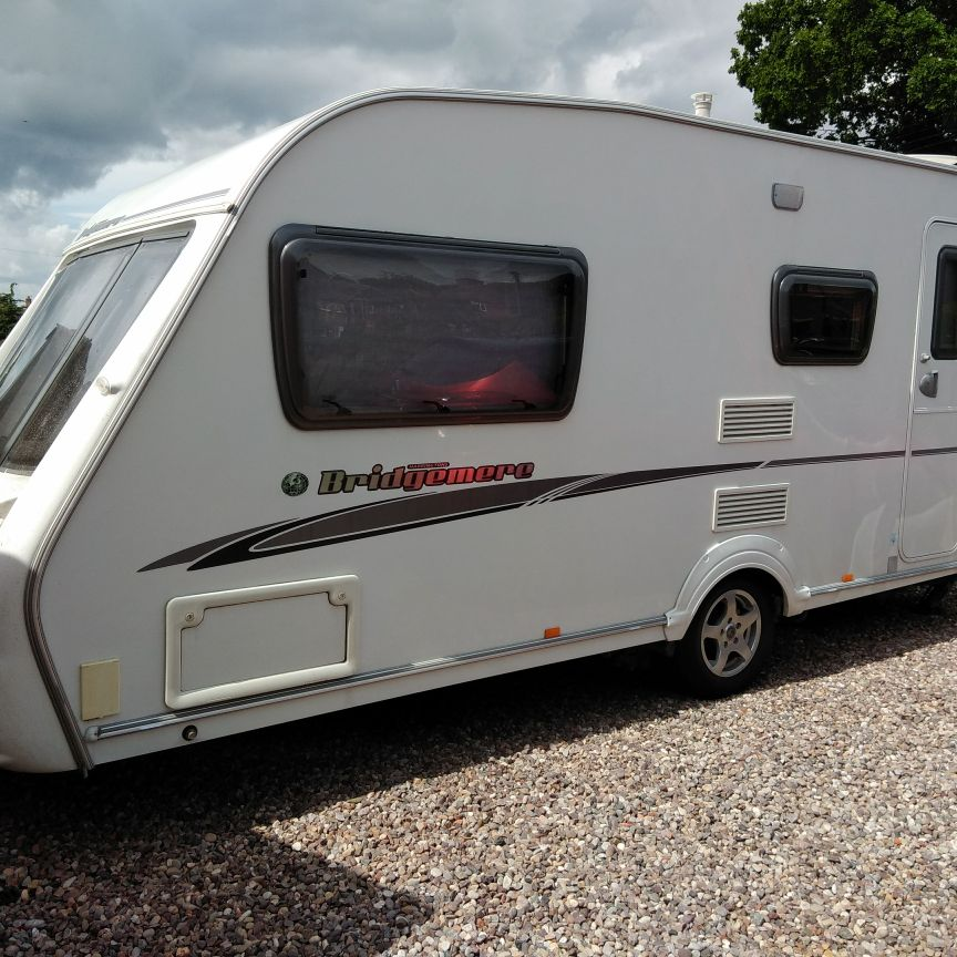Swift Harrington's Bridgemere 2007 4 berth caravan