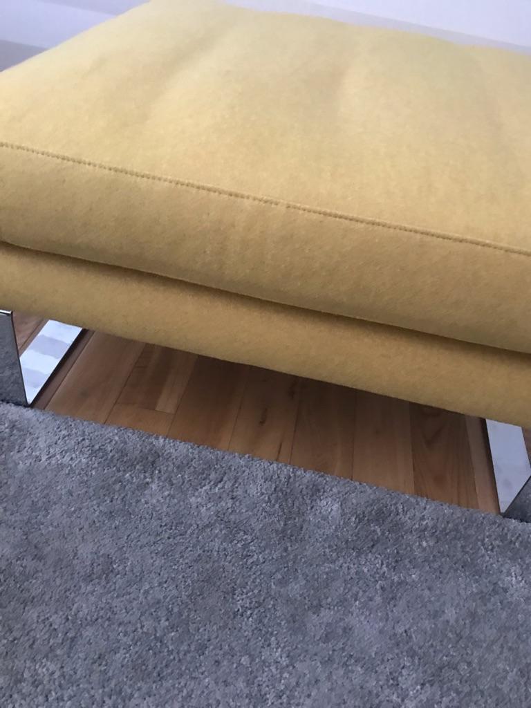 Stunning bespoke footstool