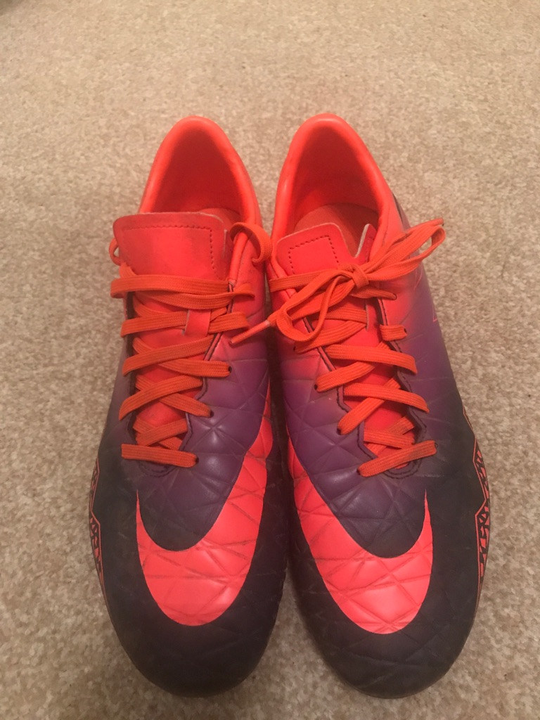 Nike Football Boots with Studs, Size UK 7
