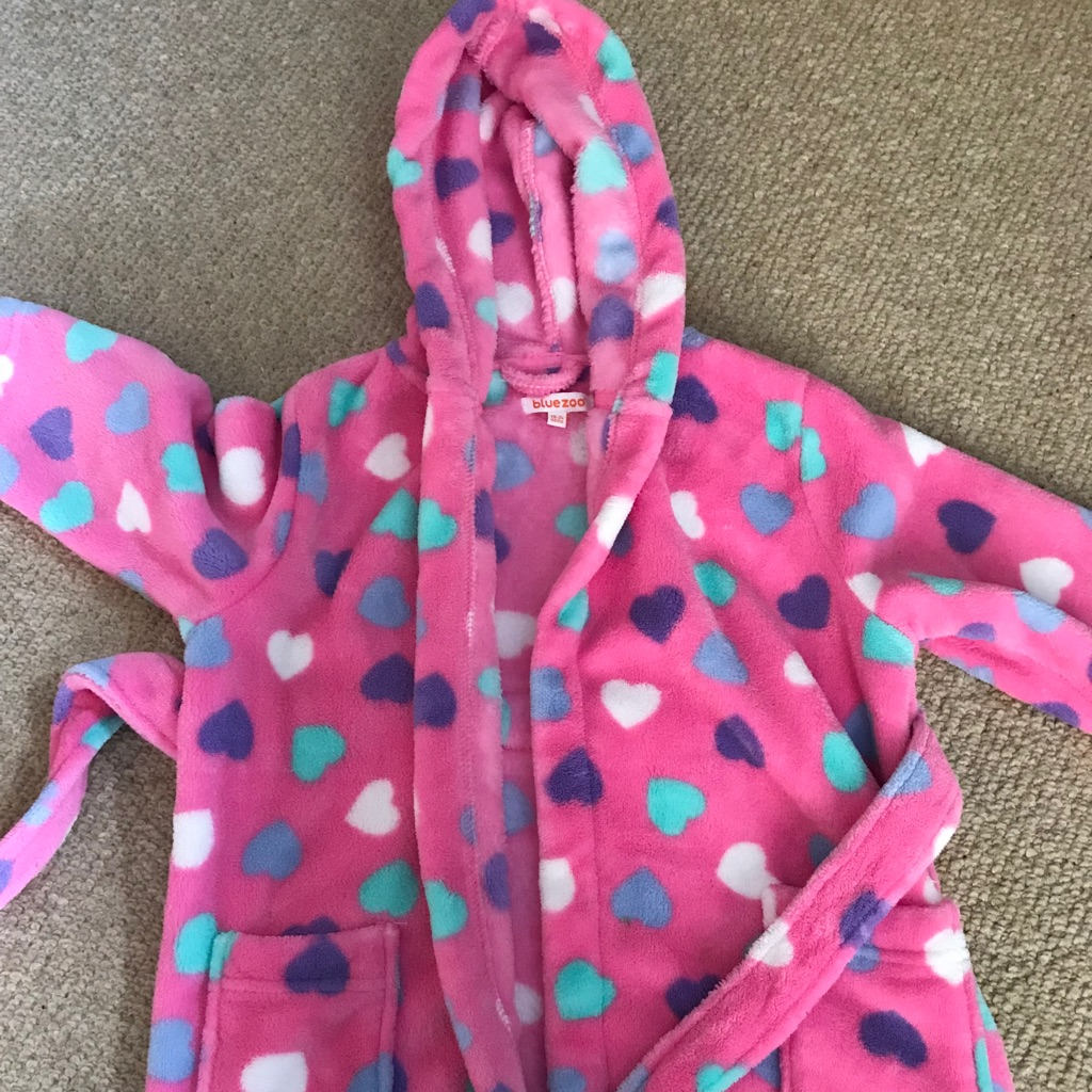 Girls Bluezoo dressing gown