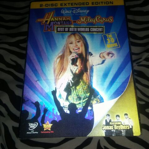 Hannah montana best of both worlds 3D movie