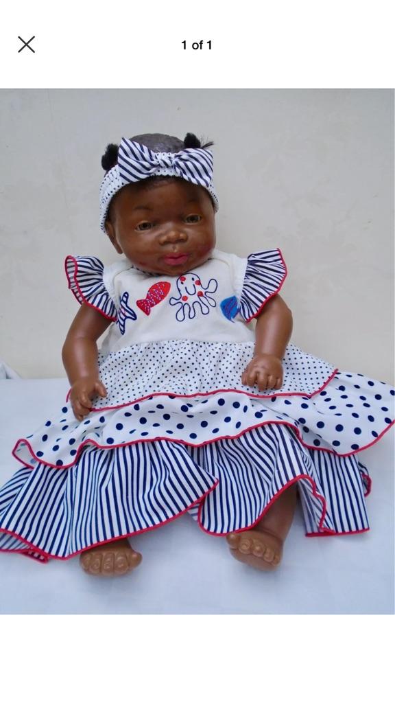 REBORN AFRO CARIBBEAN SPANISH BABY
