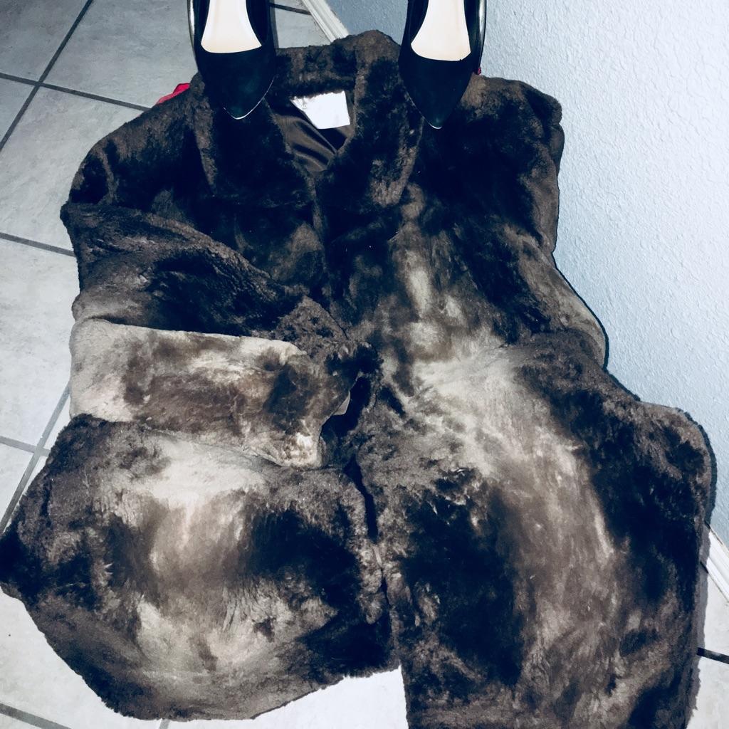 Vintage beaver coat