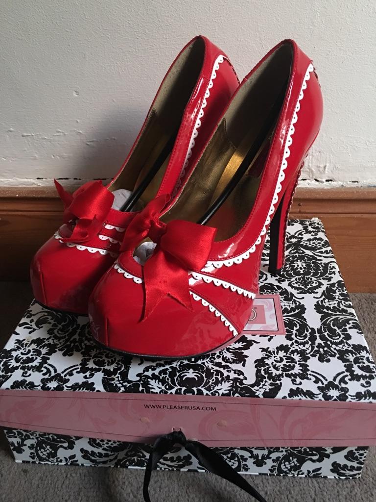 Bordello platform heels
