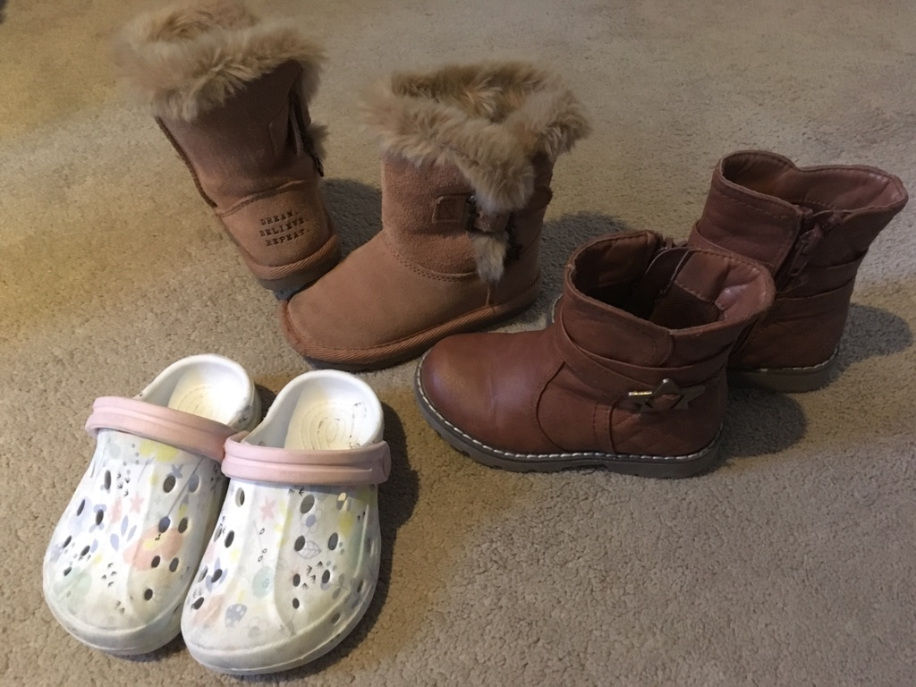 Size 6 infant girls shoes