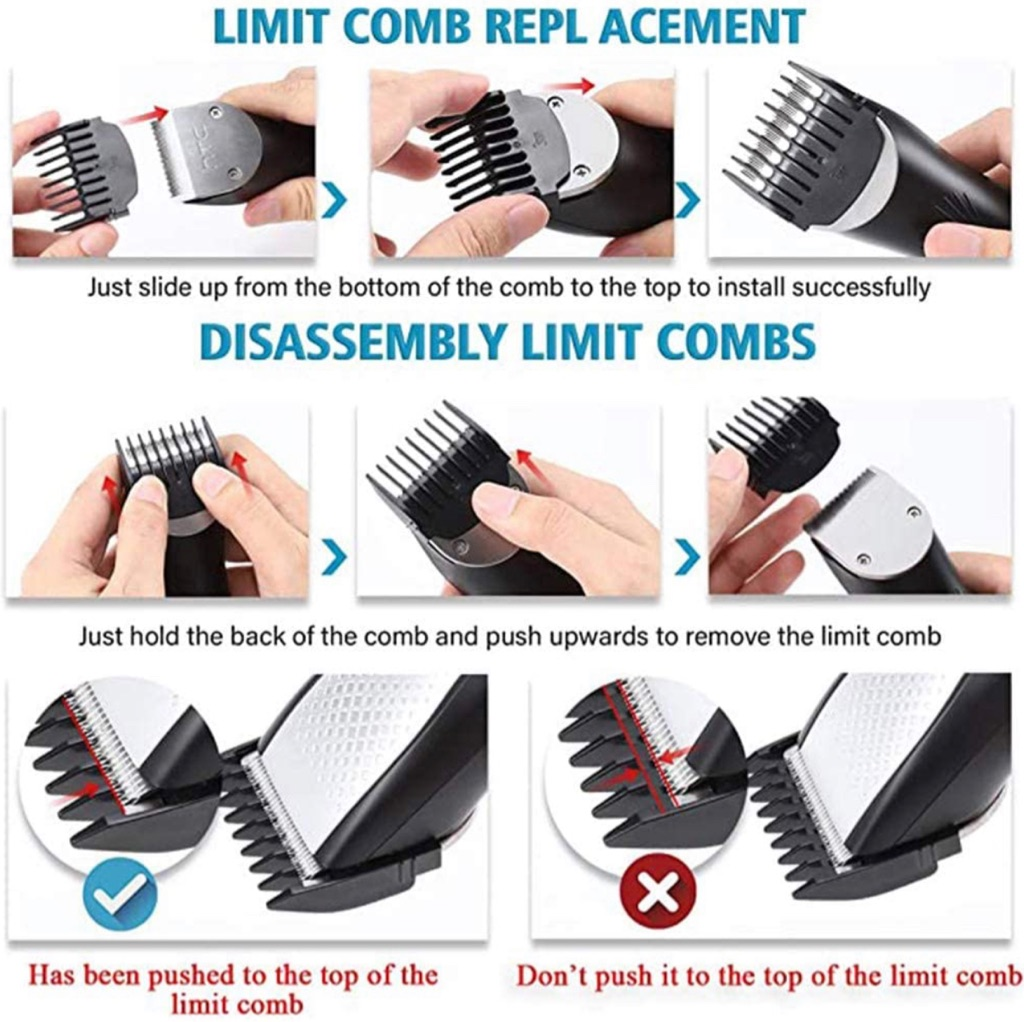Hair clippers for Men, 3 in 1 trimmer set