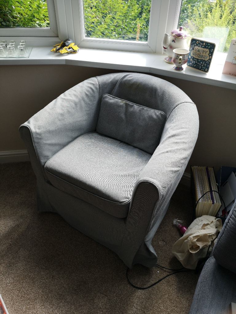 Two Bucket Arm Chairs for Sale £40