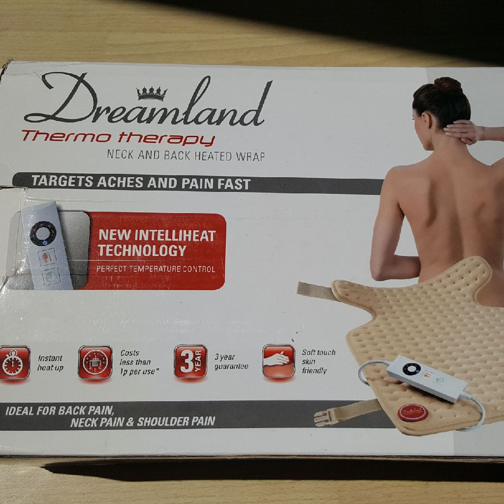 Dreamland Neck And Back Heat Wrap