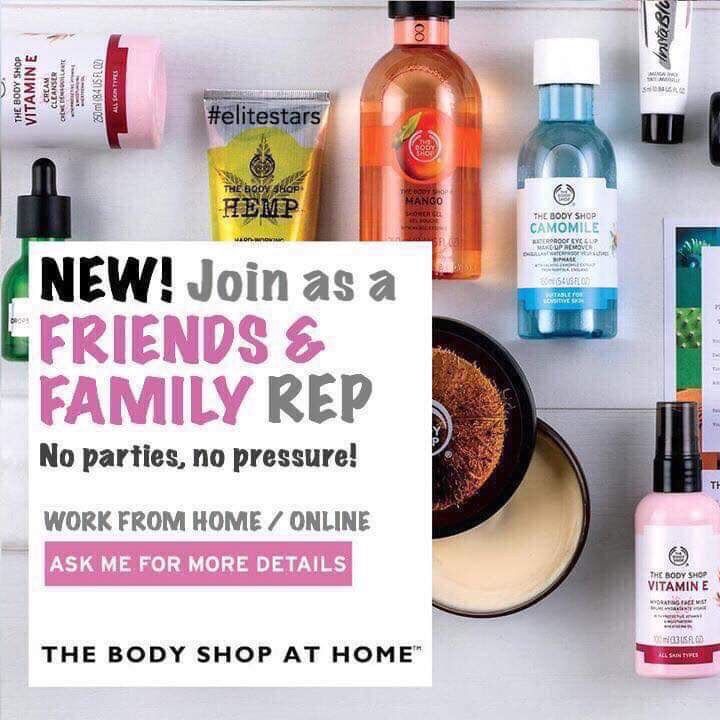 Body shop at home consultant vacancy