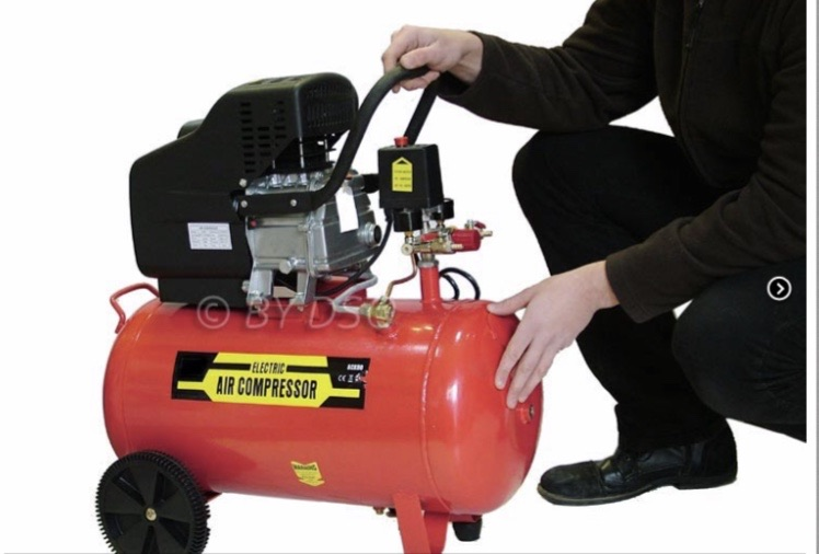 BRAND NEW Pro User 2HP Electric Twin Outlet 50L Air Compressor Cast Head 7.25 cfm