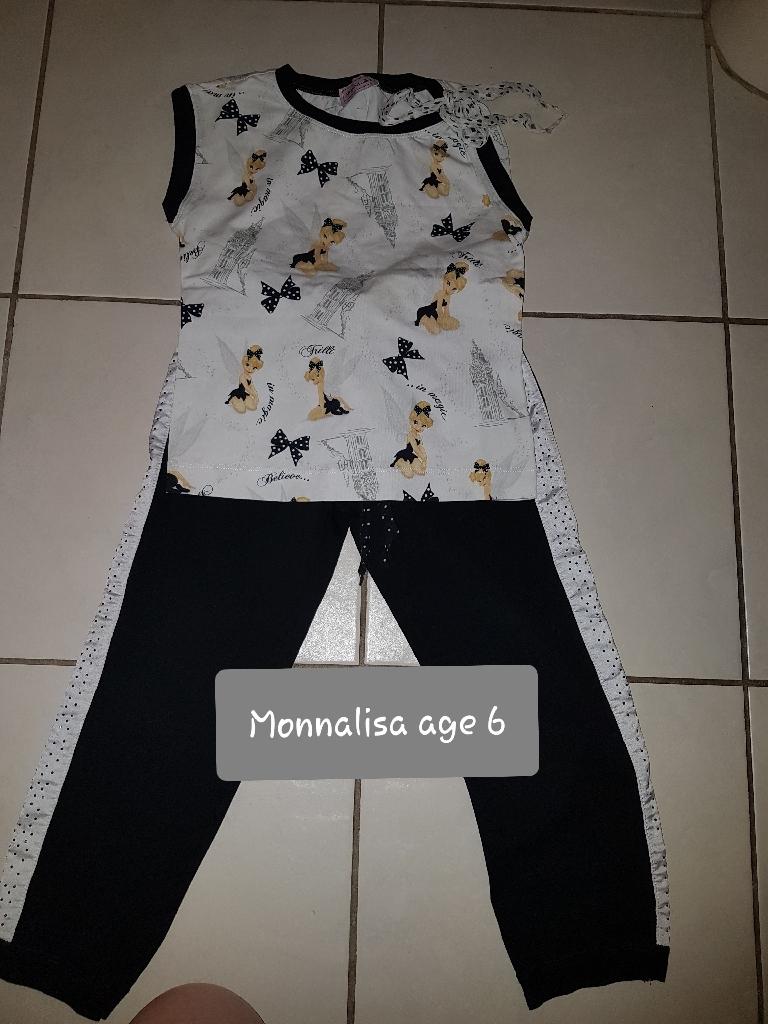 Monnalisa Cinderella 2 piece set age 6