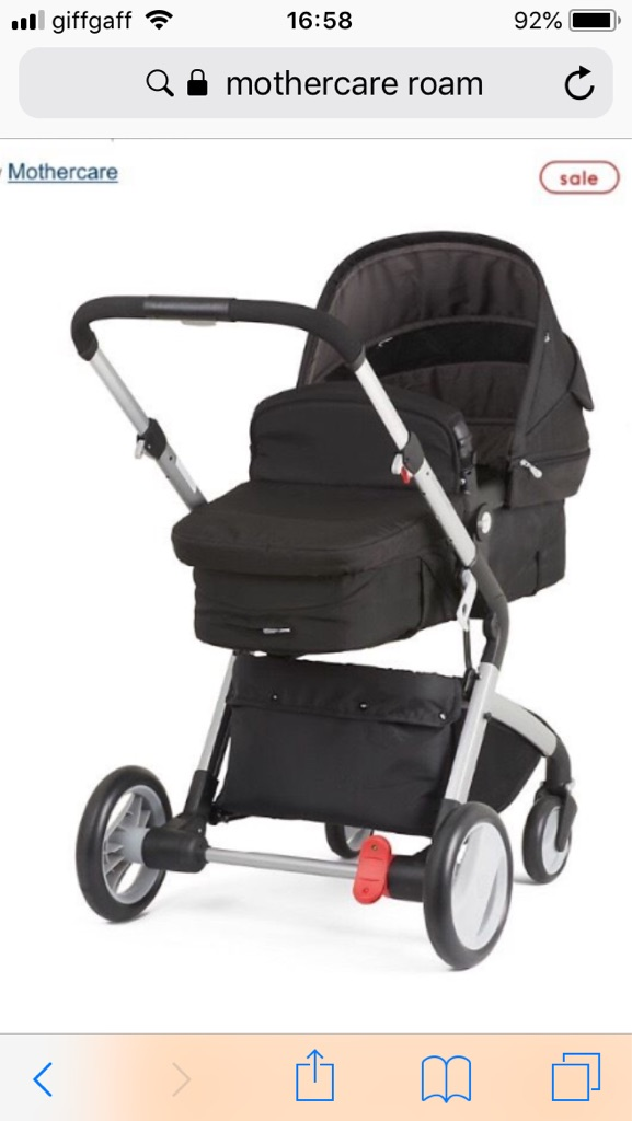 Mothercare Roam pushchair