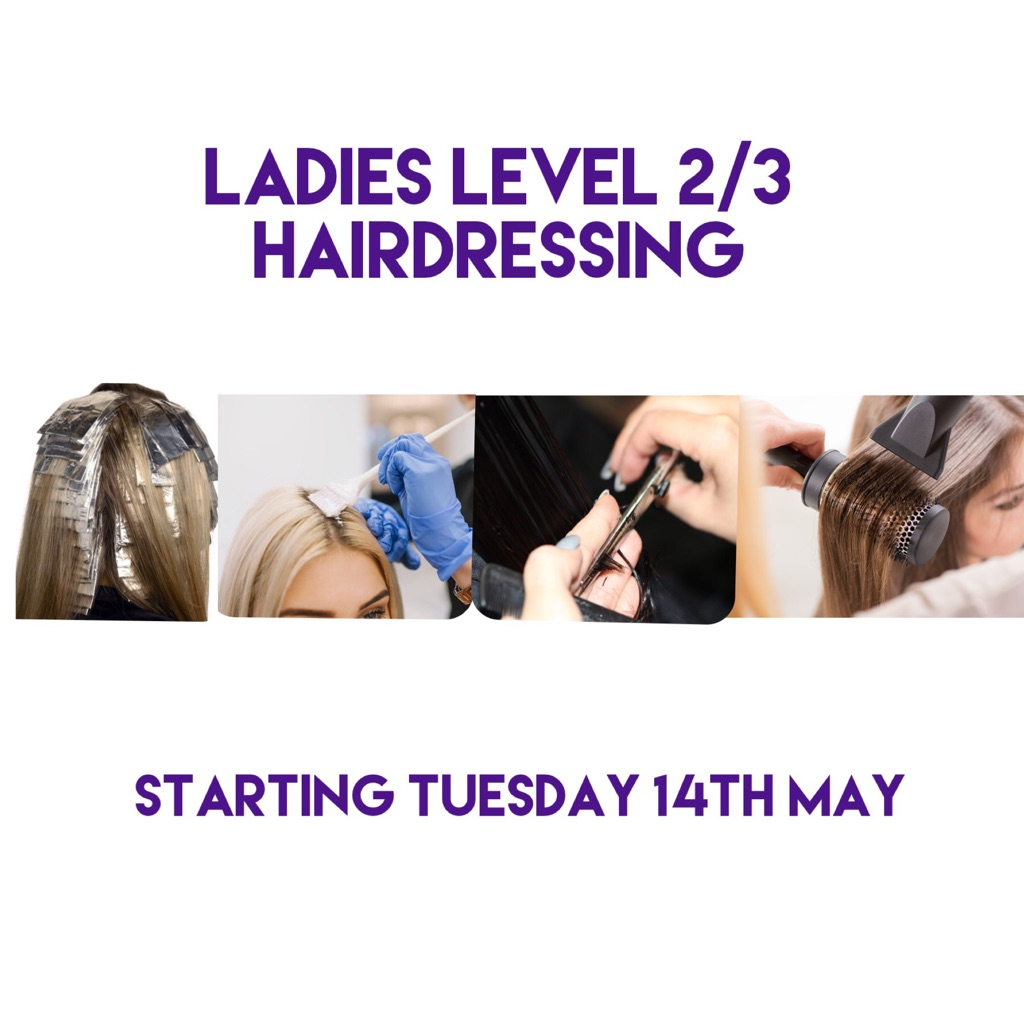 L2/3 Hairdressing Diploma