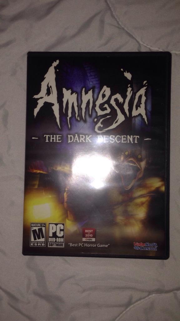 Amnesia: The Dark Descent (PC Game)