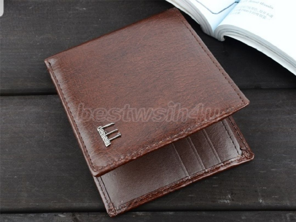 Brand new Brown wallet credit card holder
