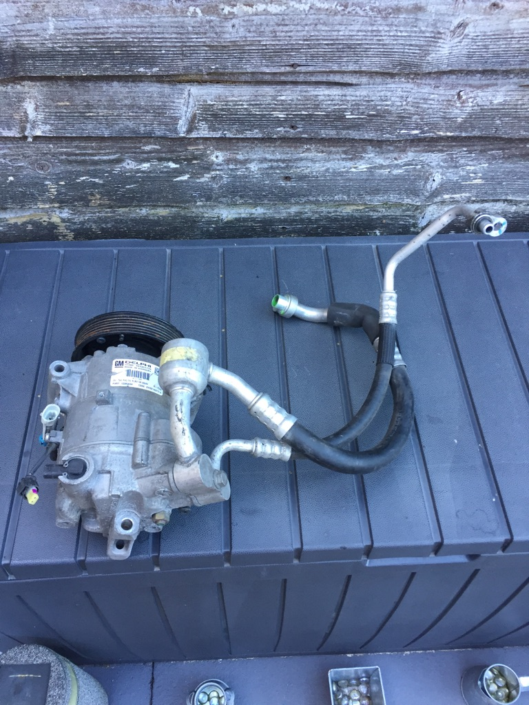 Astra J Mk6 Air Con Pump Compressor