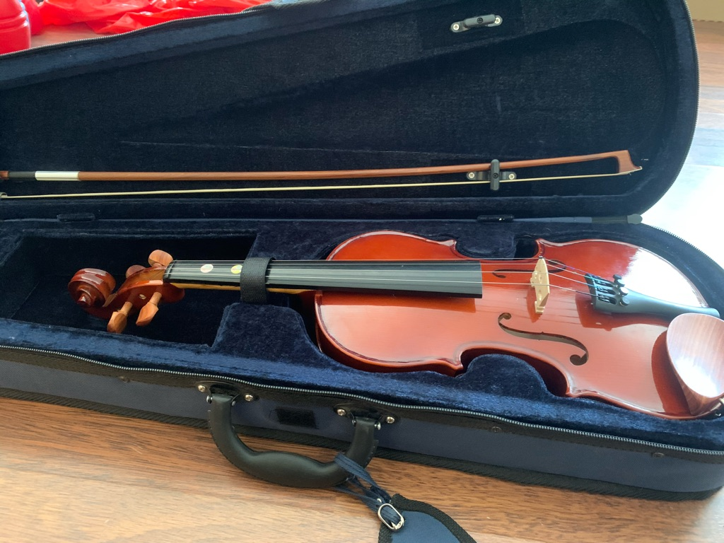 3/4 length child's violin