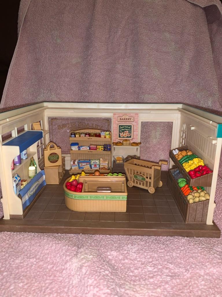 Sylvanian family supermarket