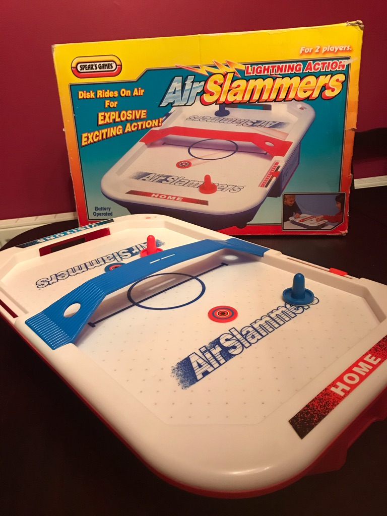Brilliant Children's Mattel Games Air Slammers