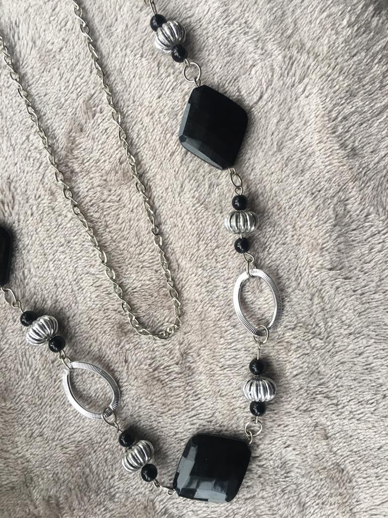 Costume Jewellery Black & Silver