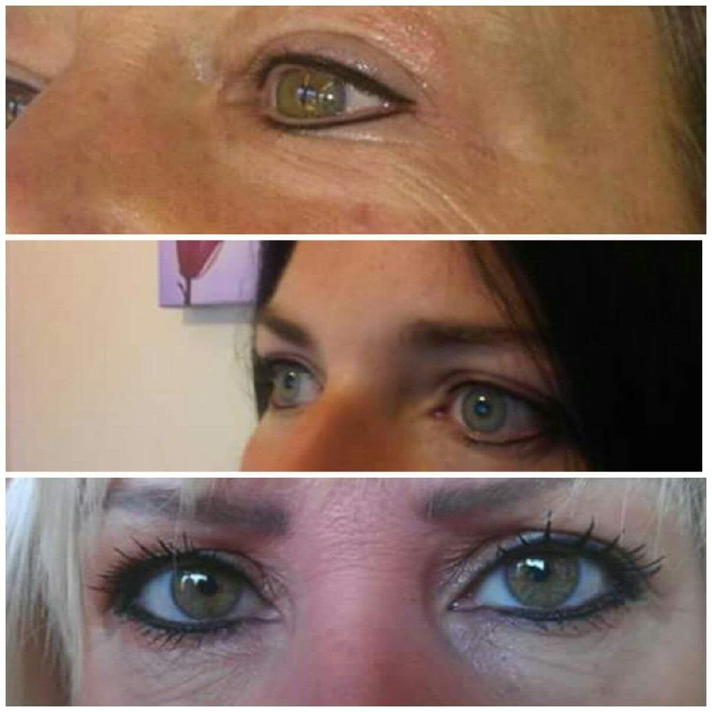 Semi permanent makeup - Eyeliner