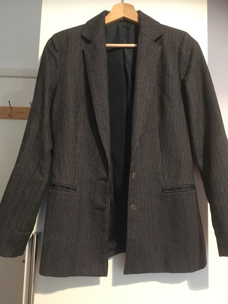 Grey blazer UK size 6