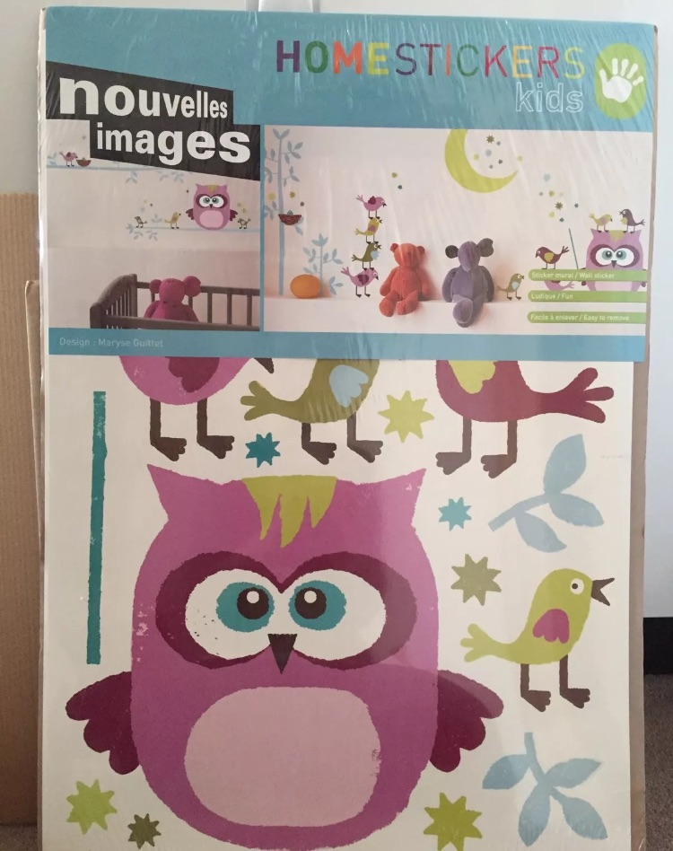 Animals Wall Sticker - Owl & Co. By Maryse Guittet