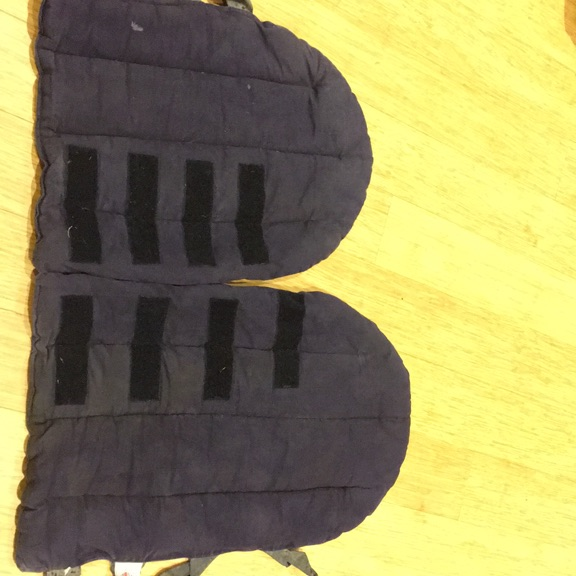 Set of 4 Horse Travel Boots