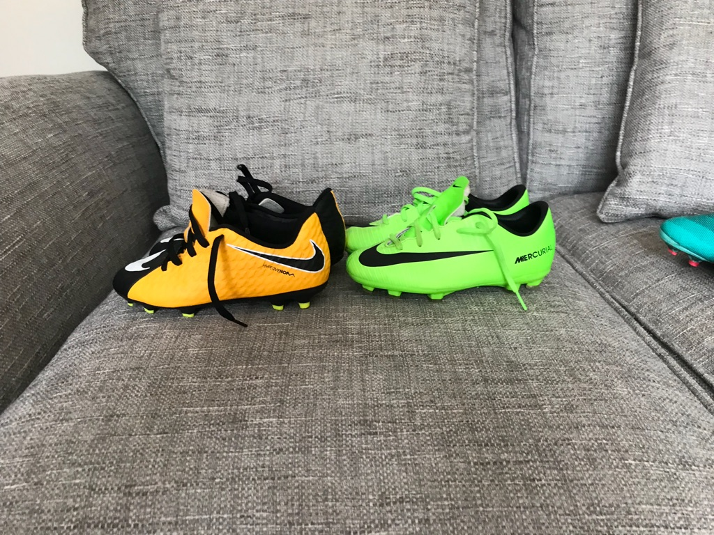 Size 13 football boots