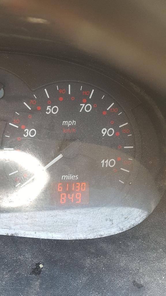 Nissan Interstar SL28 DCI 2003 61128 mileage