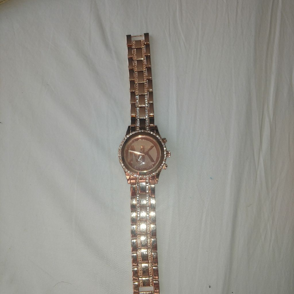 Mkors rosegold watch