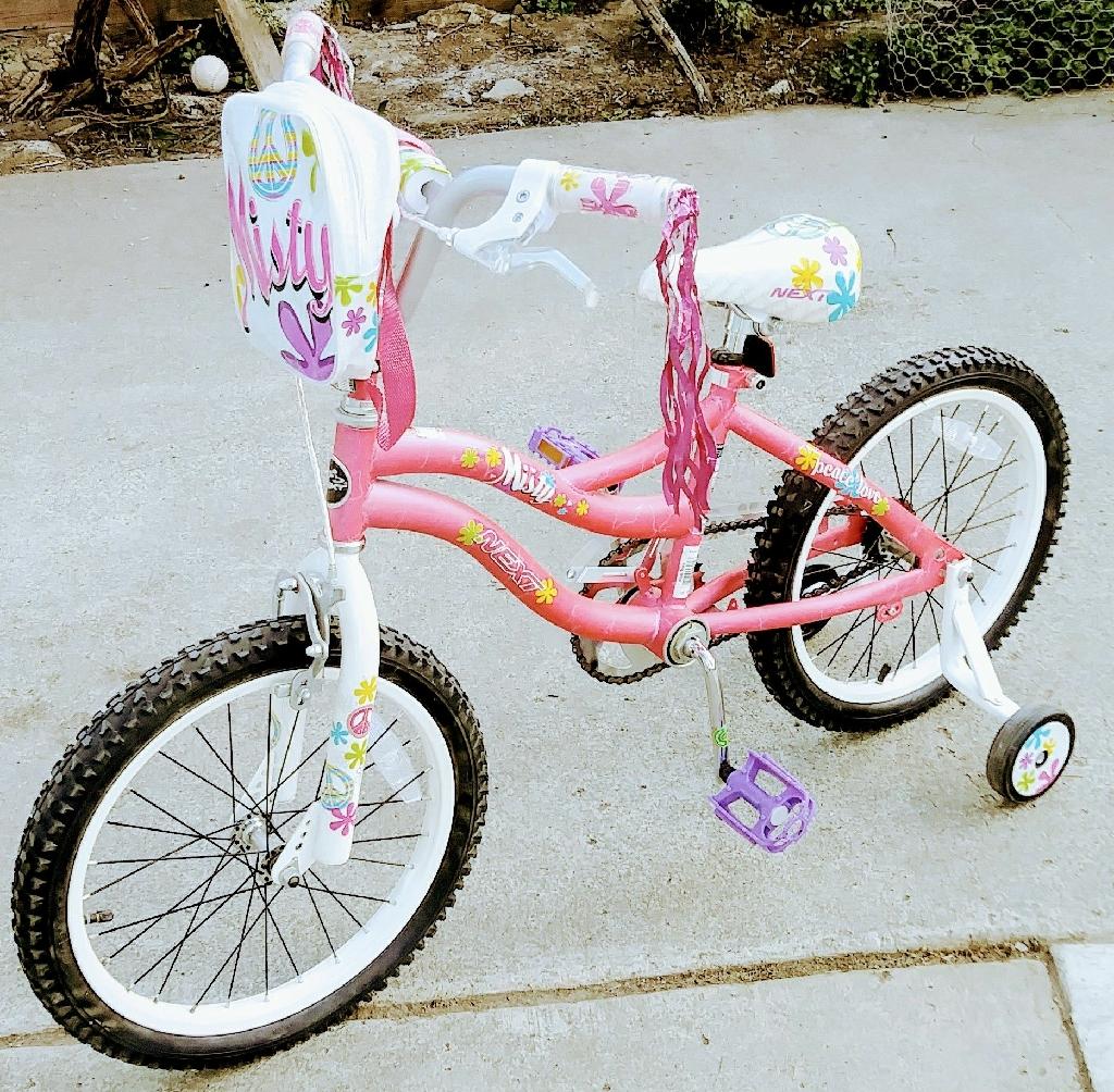 """18"""" Next Mist girls' bike"""